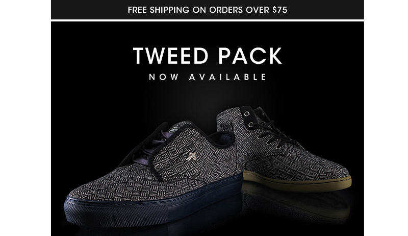 Available now, the new Tweed Pack.