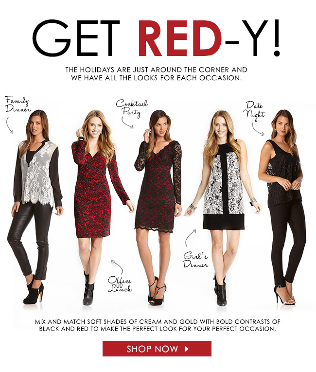 Get Red-Y!