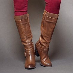 Black & Brown Boots
