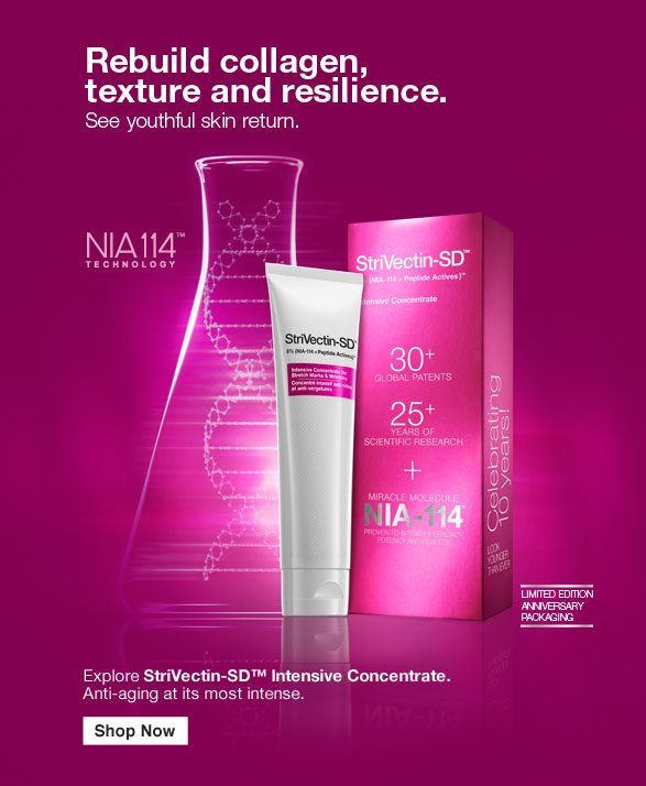 Rebuild collagen, texture and resilience. See youthful skin return.