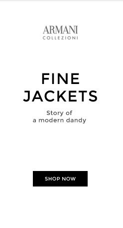 FINE JACKETS - Story of a modern dandy - SHOP NOW