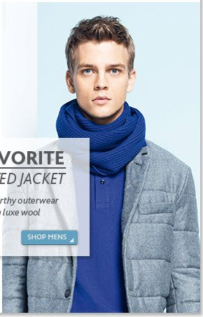 Fall Favorite - The Quilted Jacket - Shop  Men