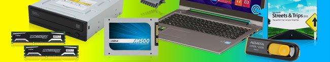 ODD, Memroy, SSD, Flash, Software