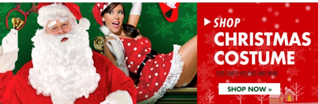 Shop Christmas Costume Sexy Santa Helpers and More