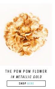 shop ban.do pom pom flowers