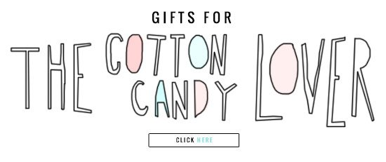 gifts for the cotton candy lover