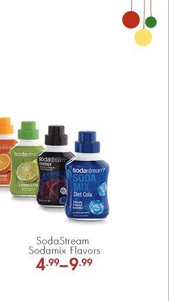 SodaStream Sodamix Flavors 4.99 – 9.99