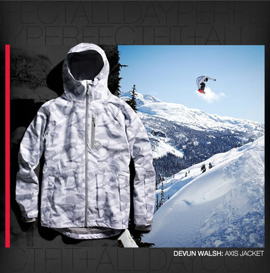 Devun Walsh: Axis Jacket