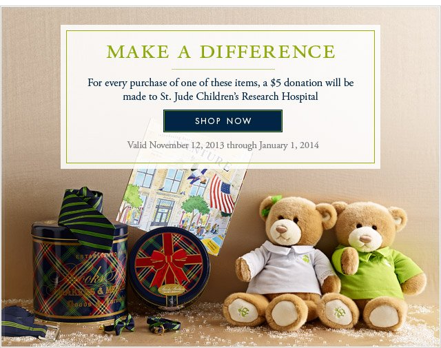 MAKE A DIFFERENCE - SHOP NOW