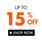 Up to 15% off!