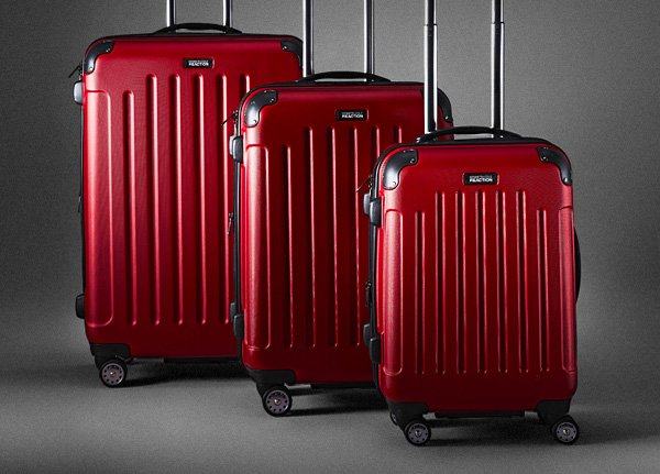 Emter this limited-time sweepstakes for the chance to  win a three-piece luggage set. Once you enter, forward to a friend and,  for every friend who enters, you'll receive another entry in the  sweepstakes.