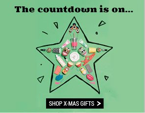 The countdown is on... Shop x-mas gifts.
