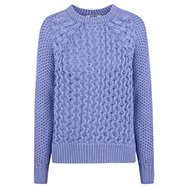 ACNE - Ruth Air cable knit cotton jumper