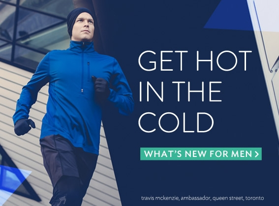 get hot in the cold