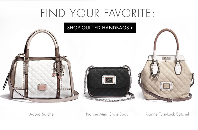Shop Quilted Handbags