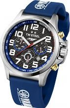 Men's TW Steel Pilot Yamaha Factory Racing Edition 48mm Chronograph 47mm