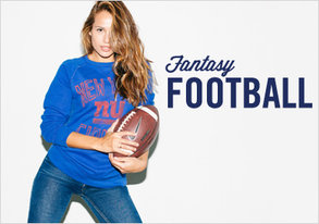 Shop Fantasy Football: Rep Your Team