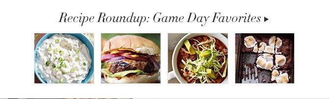 Recipe Roundup: Game Day Favorites