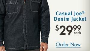 Denim Jacket $29.99 each