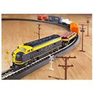 Over 150-Pc. Rolling Rails Electric Train Set