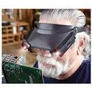 2 Head Magnifiers with LED and 3 Lenses