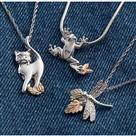 Black Hills Gold® Cat Necklace