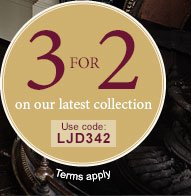 Buy 2 Pairs, Get 3rd Pair FREE! Use code LJD342