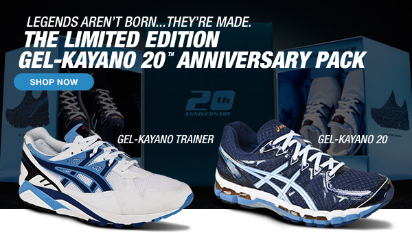 Shop the Limited Edition GEL-Kayano 20 Anniversary Pack - Hero
