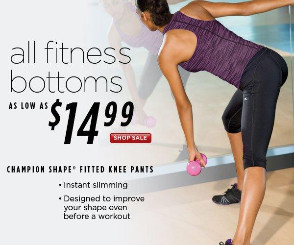 SHOP Fit Bottoms Sale