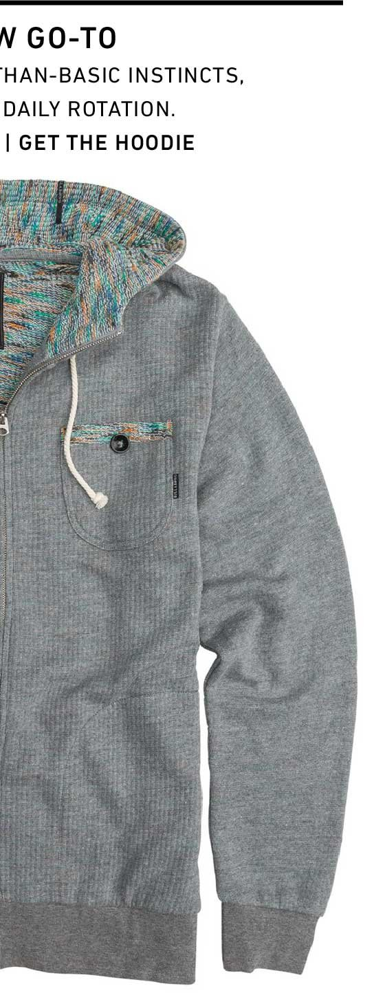 The New Go-To: Get The BILLABONG SEQUENCE PULLOVER FLEECE