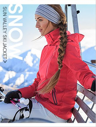 SNOW SUN VALLEY SKI JACKET
