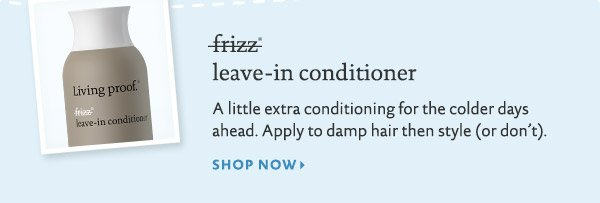 Buy Living Proof No Frizz Leave In Conditioner