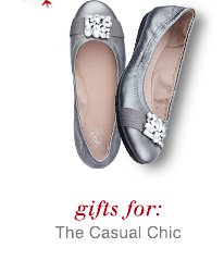 Click here to shop  gifts for the casual chic.