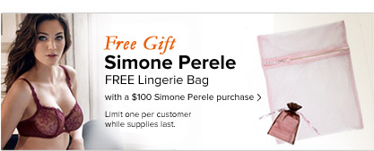 Free Gift From Simone Perele - See Details
