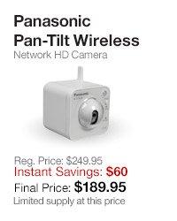 Panasonic Pan-Tilt HD Camera