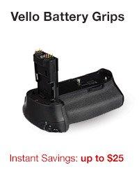 Vello Battery Grips