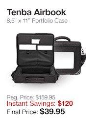 Tenba Airbook Portfolio