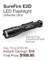 SureFire E2D Flashlight