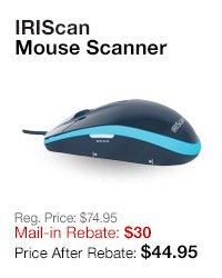IRIScan Mouse Scanner