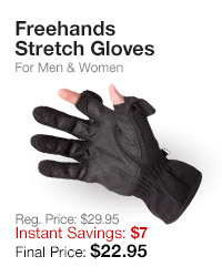 Freehands Stretch Gloves