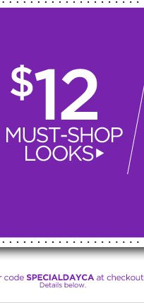 $12 Must-Shop Looks