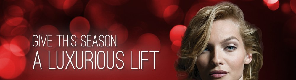 GIVE THIS SEASON A LUXURIOUS LIFT