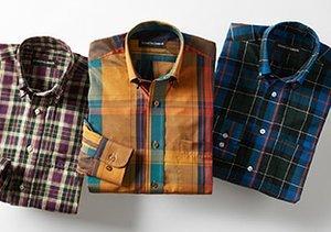 Casual Plaid: Shirts