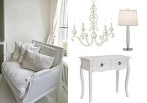 White Out: Furniture & Lighting