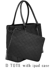 D Tote with iPad Case