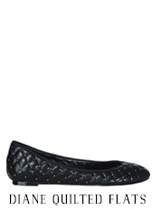 Diana Quilted Flat