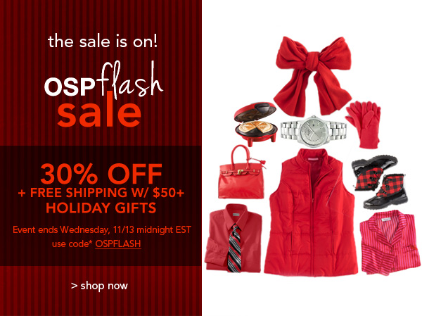 Shop OSPFlash Sale