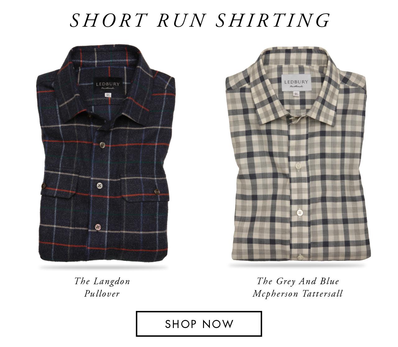 Short Run Shirting
