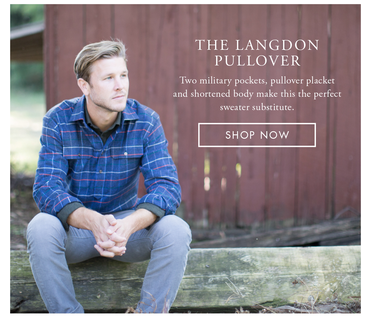 The Langdon Pullover