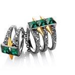 The Scarlett Twin Ring